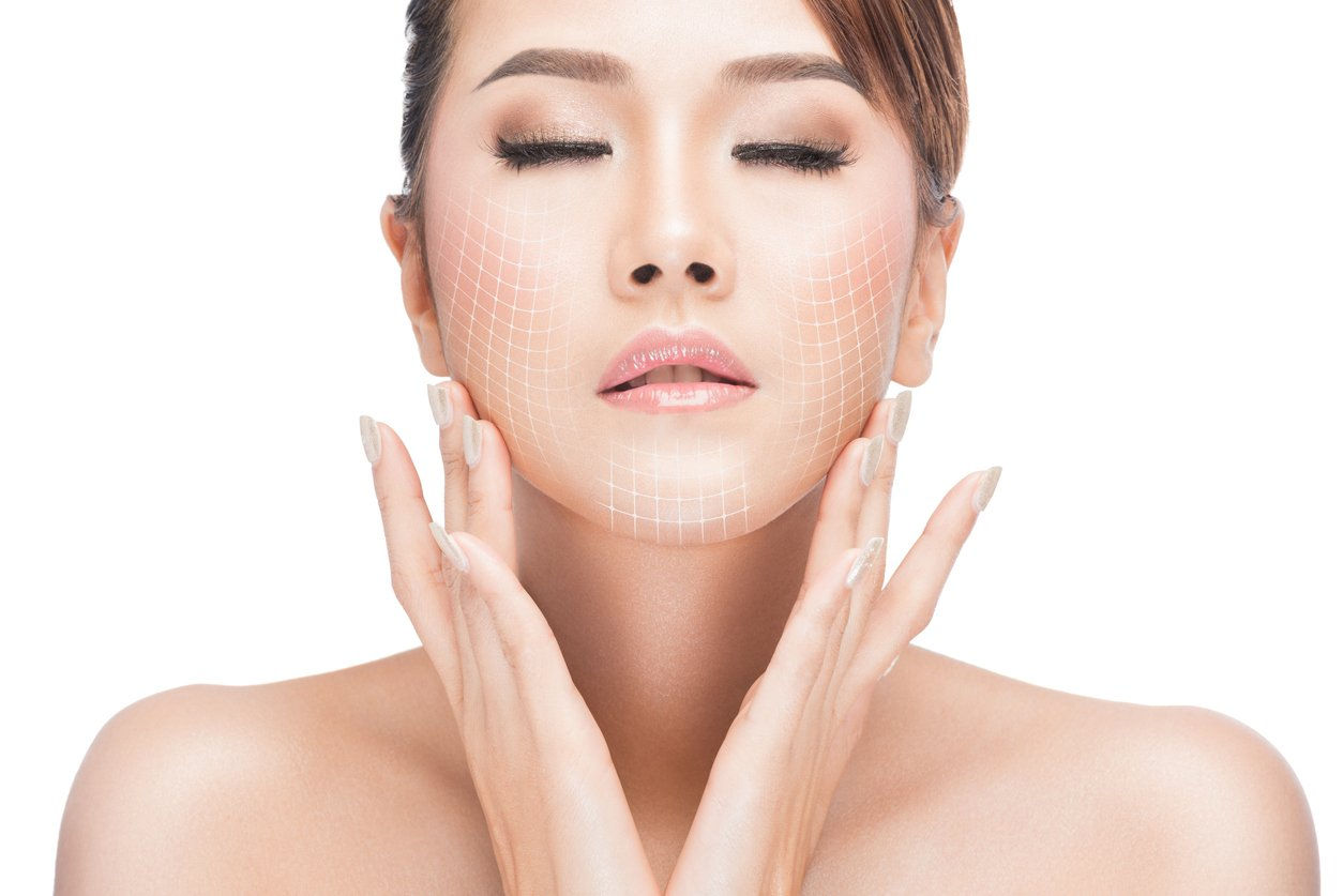 woman facelift